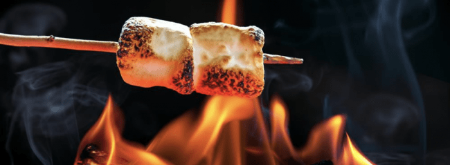 More than Smores on Skewers- Fun & Food on a Stick: Go Fork Free and Make these Easy Camping Meals with Kids using skewers, marshmallow sticks, or sticks
