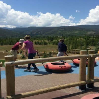 Summer Tubing at the YMCA of the Rockies Colorado