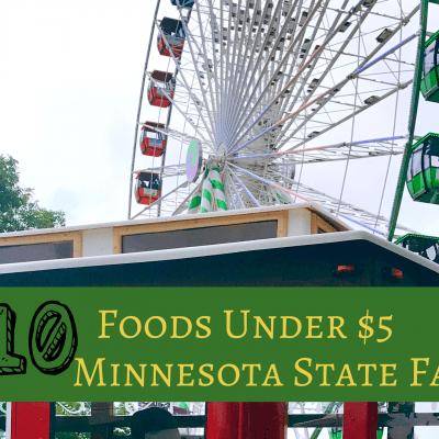 10 Minnesota State Fair Foods Under $5