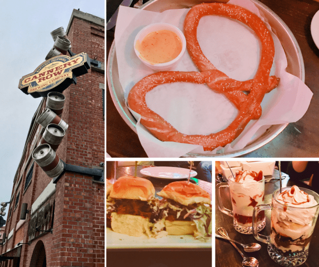 Cannery Row Brewing Company - Monterey, CA should be on your family travel bucket list. There are so many great attractions from historic Cannery Row to the Monterey Bay Aquarium. When you go, here are my picks for the best Cannery Row restaurants that you will want to check out.