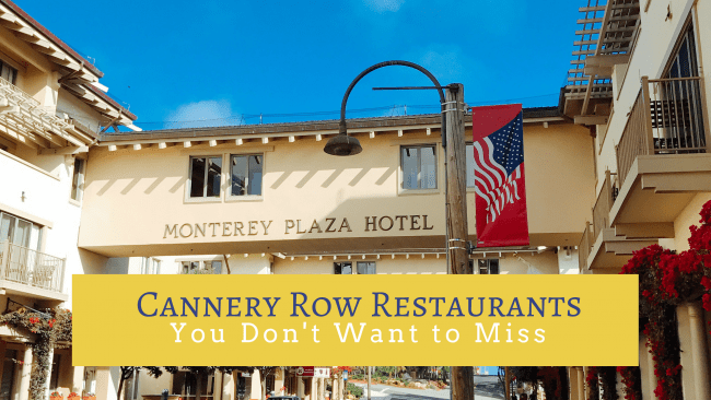 Monterey, CA should be on your family travel bucket list. There are so many great attractions from historic Cannery Row to the Monterey Bay Aquarium. When you go, here are my picks for the best Cannery Row restaurants that you will want to check out.