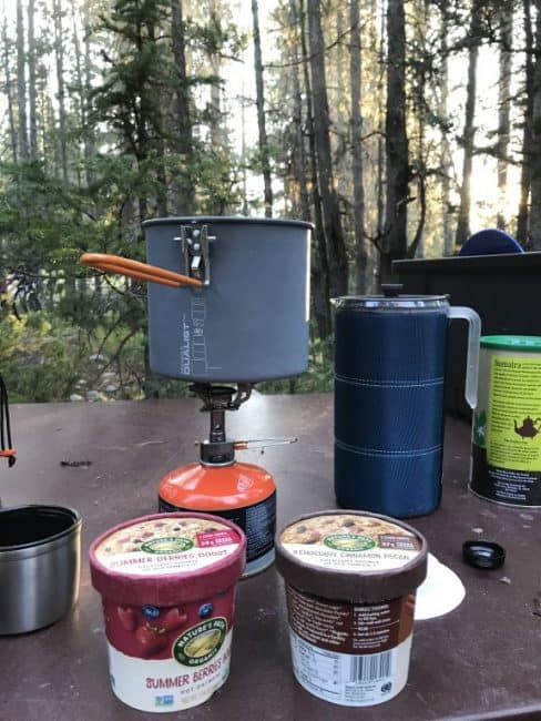 What's for Breakfast? Ideas for camping and travel with the family - Hot Oatmeal Cups