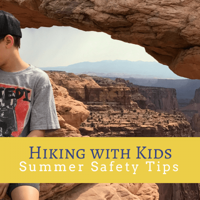 Summer Safety Tips for Hiking with Kids