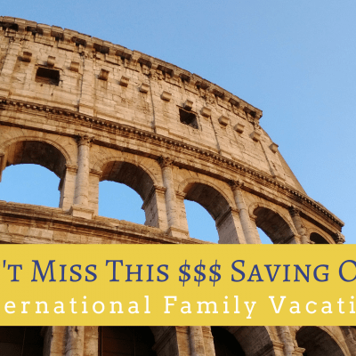 Start Planning your Next International Trip with this Limited Time Offer