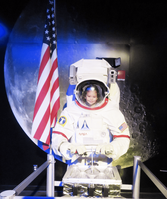 Be an astronaut at Wonderworks