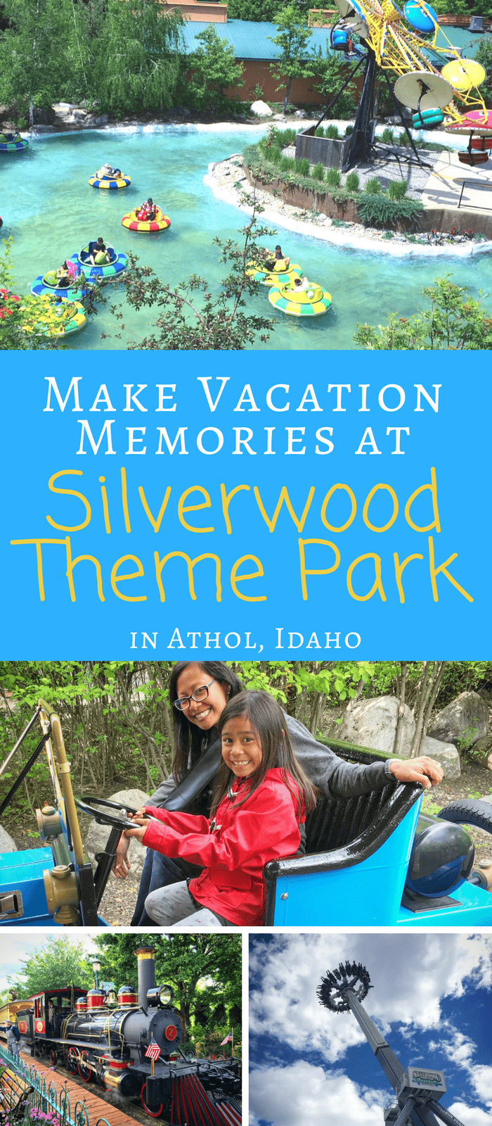 Silverwood Theme Park - Fun for Families - From tiny tots to adrenaline seeking adults, there is a ride or show here for you to enjoy. Start making plans for your next family vacation