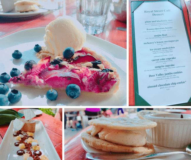 Royal Street Cafe Desserts