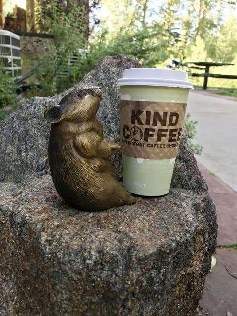 Pika staute and KIND coffee