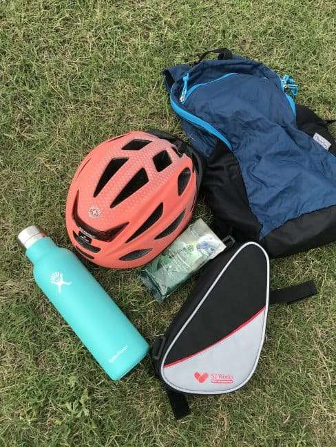 Items to Pack for an Urban Ride