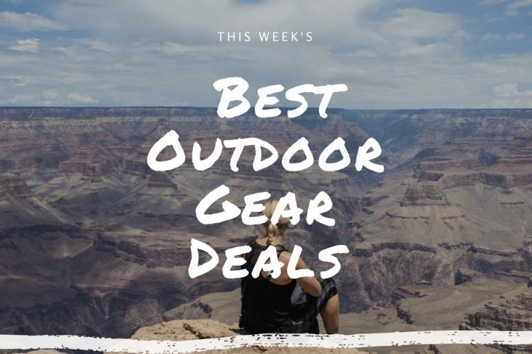 This Week's Best Outdoor Gear Deals