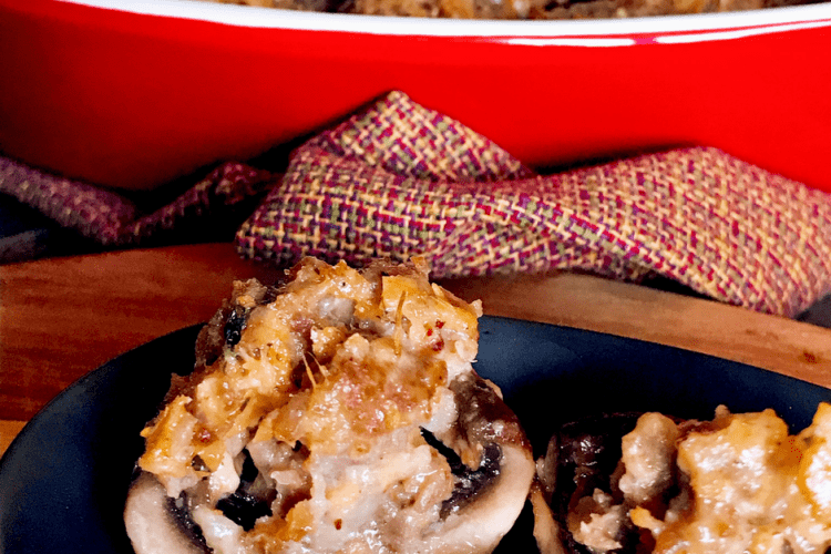 The Tastiest Stuffed Mushrooms Recipe You'll Ever Make