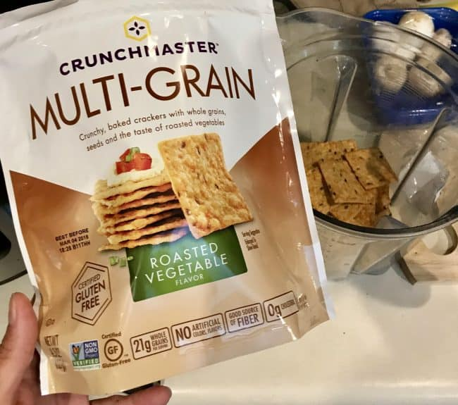 Crunchmaster Multi-Grain Roasted Vegetable Crackers