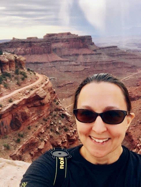 Canyonlands National Park selfie