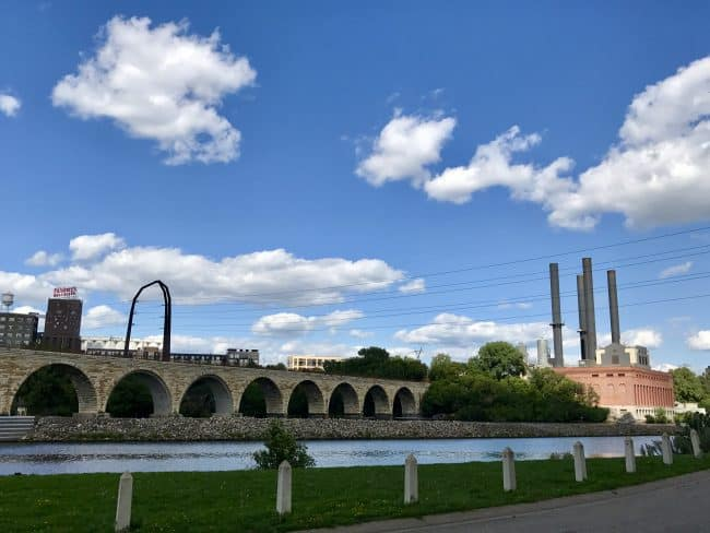 Stone Arch Bridge & Mill Ruins Park