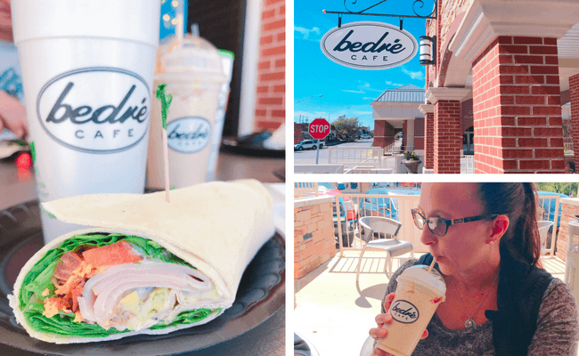 For your Weekend Getaway in Oklahoma for Families (South-Central Oklahoma), visit local Bedre Cafe for Old Fashioned Shakes, deli sandwiches, and desserts