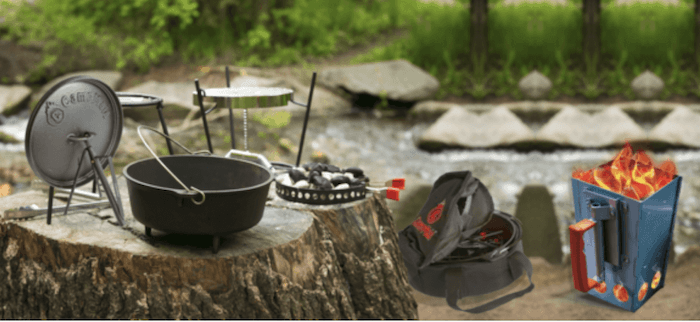 CampMaid Dutch Oven Set - Holiday Gift Guide -  All Things Foodie Gift Guide