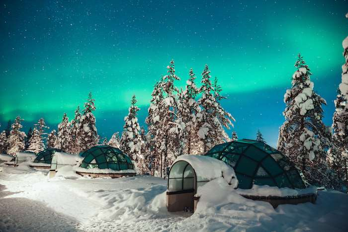 Finland Ice Igloo