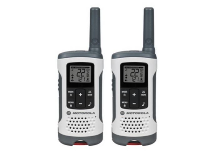 Motorola Talkabout T260 Radios - The Best Tech Gifts for Those you Love the Outdoors