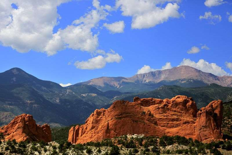 Pikes Peak Garden of the Gods - Things to Do with Kids Colorado Springs - Olympic City USA